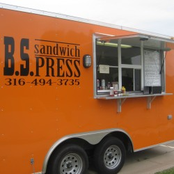 (#0023) BS Sandwich Press Trailer built by Advanced