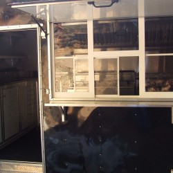 8.5 x 24 Concession Trailer with walk-in cooler
