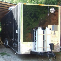 Black Concession Trailer