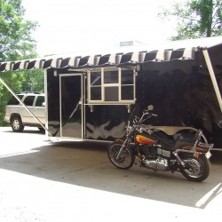 (#0009) Example of Black Trailer
