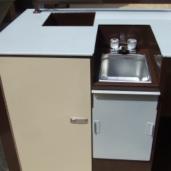Coffee Cart Hand Sink System