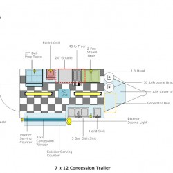 floor layouts advanced concession trailers inside concession trailers concession trailer schematics #40