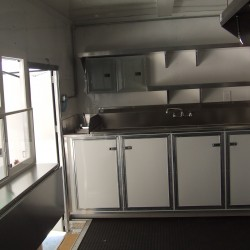 (#2025) Inside view of concession trailer
