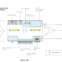 (#3006) 8.5 X 14 Example Floor Layout